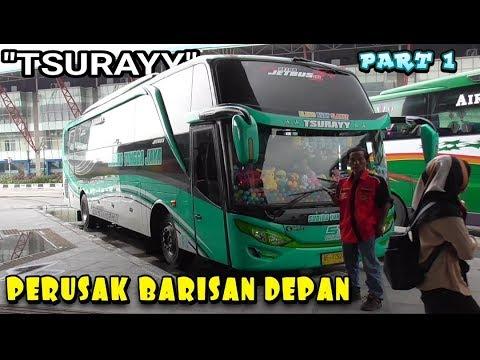 "HITUNG BERAPA BUS YANG DI OVER TAKE !!.. Sudiro Tungga Jaya ""TSURAYY"" JAKARTA PONOROGO"