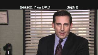 The Office Season 7 - Threat Level Midnight Trailer - Own it 9/6
