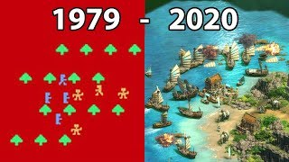 Evolution of REAL TIME STRATEGY Games 1979 - 2020