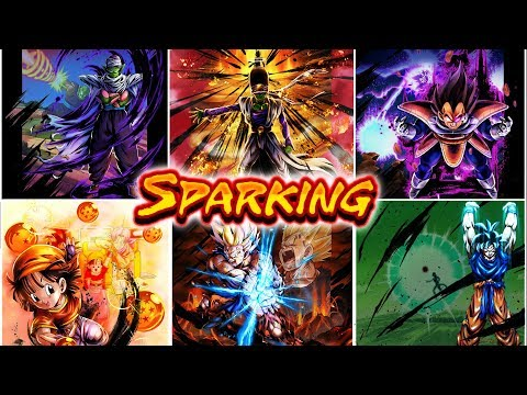 RANKING ALL OF THE SPARKING UNITS IN DRAGON BALL LEGENDS!