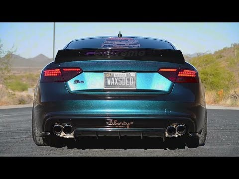 audi s5 b8 armytrix exhaust tuning mods