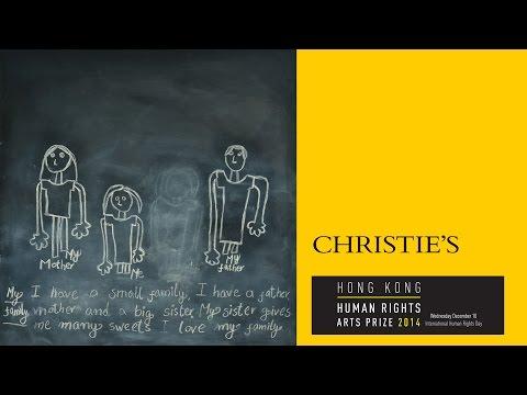 Christies Auction-Hong Kong Human Rights Arts Prize 2014