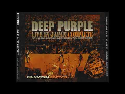 Deep Purple - Live In Japan (Complete) Osaka, Japan-15.08.1972