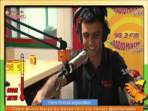 Radio Mirchi Murga Hero Honda Seperation
