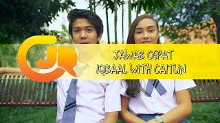 Video CJR - Jawab Cepat Ala Iqbaal with Caitlin download MP3, 3GP, MP4, WEBM, AVI, FLV September 2017