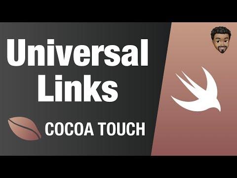 Universal Links | Swift 4, Xcode 10