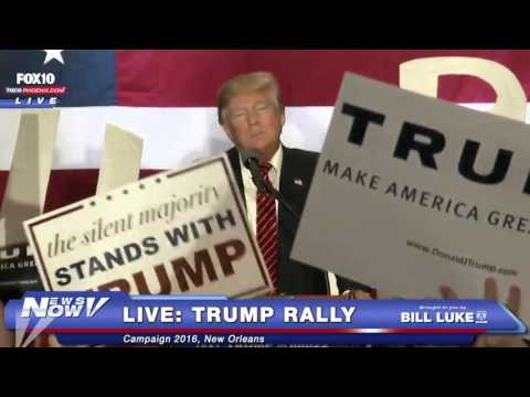 FULL: Donald Trump LIVE Rally - New Orleans - 3/4/16 - FNN