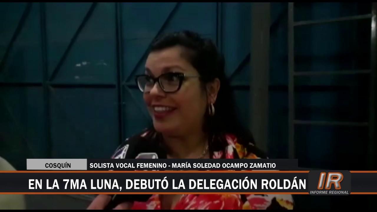 María Soledad Ocampo Zamatio debutó en el Pre Cosquín 2020