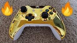 24K GOLD Xbox One Controller!! (How To make your own)