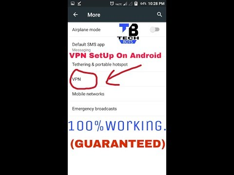 VPN SetUp On Android 💯%Working.