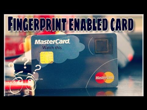 Mastercard's new credit card has a built-in fingerprint scanner