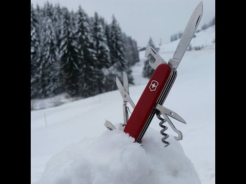 Victorinox, fabrication du couteau suisse, les constructeurs de l'extrême.