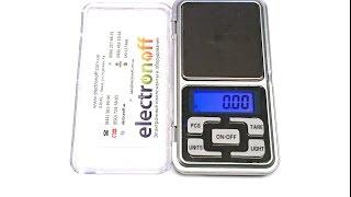 Цифровые ювелирные весы MH-200 на 200 грамм. Обзор весов от Electronoff.ua(, 2014-12-04T18:07:51.000Z)