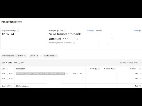 what mean Automatic payment pending Wire transfer to bank account ...
