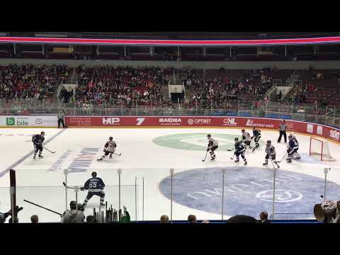 Latvia - Suomi 12.04.2018 5th goal for Finland scored by Palola