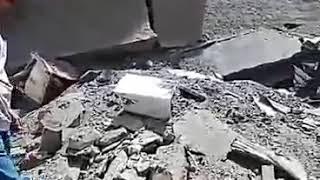 Туркістан. Жеңіс саябағының алдындағы жаяу жүргінші жолды бұзған құрылыстың соңы апатқа алып келді.