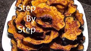 Parmesan Acorn Squash In Oven, How To Cook Acorn Squash, What To Do With Acorn Squash