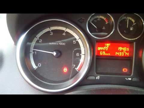 Утренний расколбас двигателя ЕР 6 Peugeot 308 2009г. заводское ПО