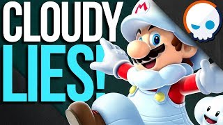 How to Walk on Clouds: Cloudy With a Chance of MARIO!? | Gnoggin - Super Mario Odyssey