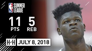 Mohamed Bamba Full Highlights vs Grizzlies (2018.07.08) NBA Summer League - 11 Pts, 5 Reb