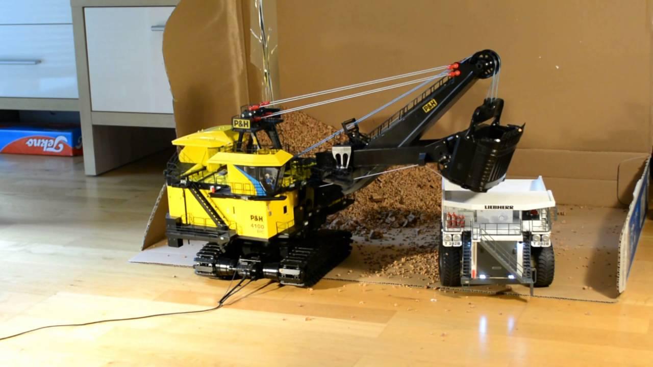P Amp H Xpc Loading Shovel Loads Liebherr T282b Mining