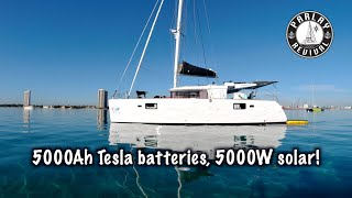 Biggest lithium battery installation ever on a sailboat? - Episode 105