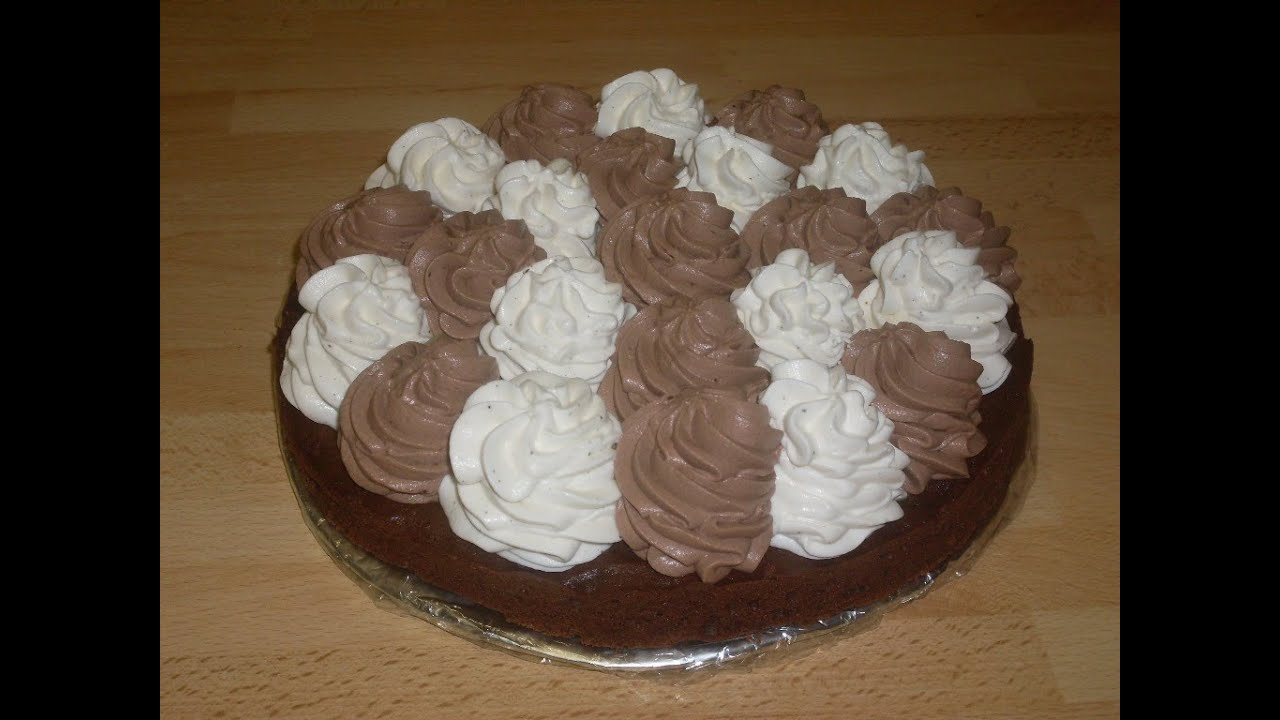Creme Chantilly Decoration Gateau Gateaux Chocolat Chantilly
