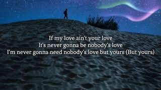 Maroon 5: Nobody's Love [Official Instrumental + LYRICS]