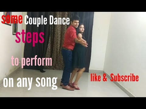 Romantic Couple Dance Performance|Simple dance steps|Romantic Bollywood song