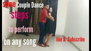 Romantic Couple Dance Performance Simple dance steps Romantic Bollywood song