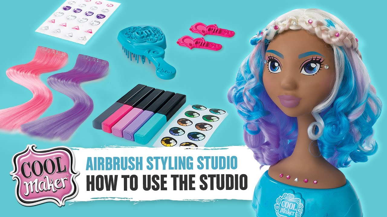 Cool maker airbrush styling studio how to use your studio full cool maker airbrush styling studio how to use your studio full solutioingenieria Gallery