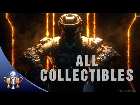 Call of Duty Black Ops 3 - All 56 Collectibles Locations - Curator Trophy
