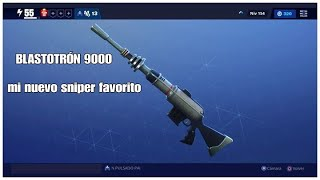 BLASTOTRON Guide 9000 My New Favorite Sniper Fortnite save the world