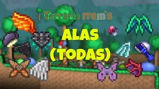 Alas (Todas) Terraria guía de Item´s en Español