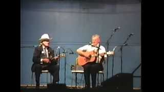 Very Rare Bill Monroe & Doc Watson Video - Sally Goodin  - 1990