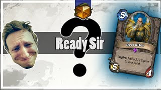 Hearthstone: Recruiter is Now Good?