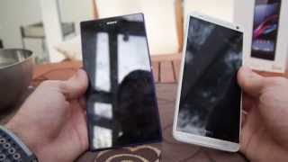HTC One Max vs. Sony Xperia Z Ultra Vergleich [Deutsch]