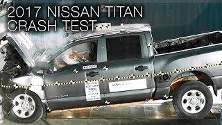 2017 Nissan Titan (Crew Cab) Frontal Crash Test