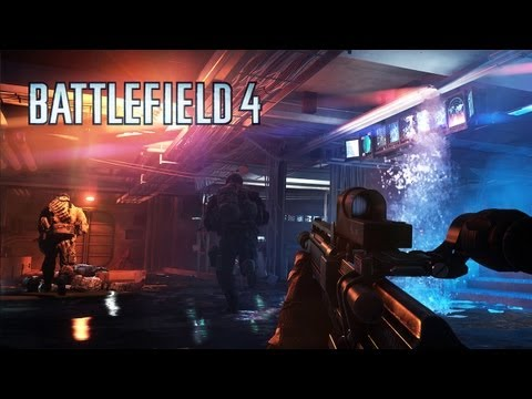 """Battlefield 4: Official """"Angry Sea"""" Single Player Gameplay Video"""