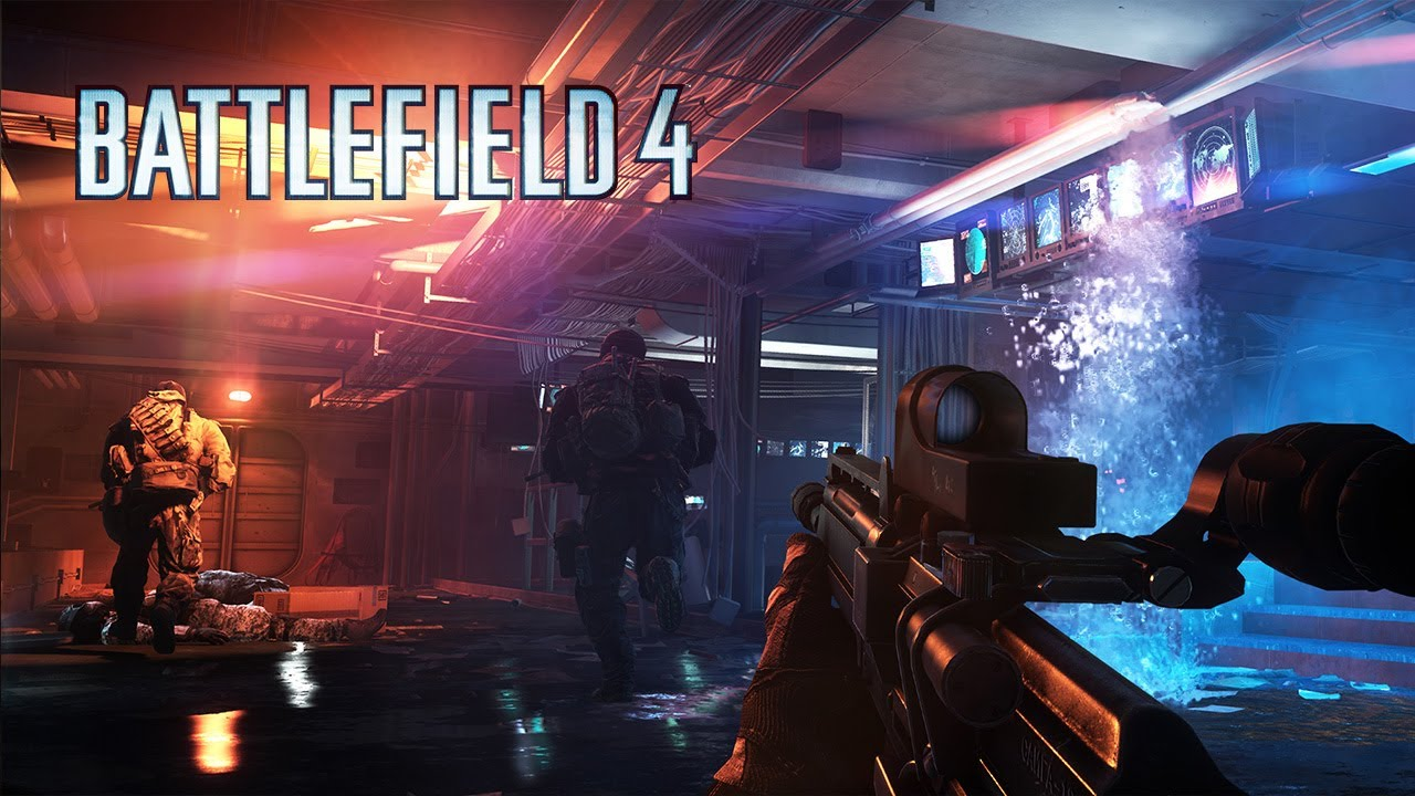 "Battlefield 4: Official ""Angry Sea"" Single Player Gameplay Video"