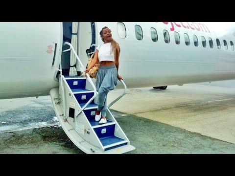 MY FIRST TIME FLYING!!! GOODBYE NAIROBI