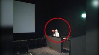 este payaso se apareci en una sala de cine y no creers lo que hizo