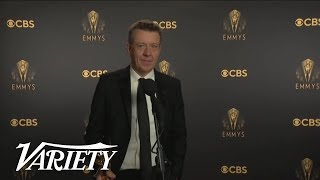 'The Crown' Creator Peter Morgan Talks Writing Princess Diana Backstage at the 2021 Emmys