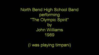 North Bend High School Band playing The Olympic Spirit (1989)