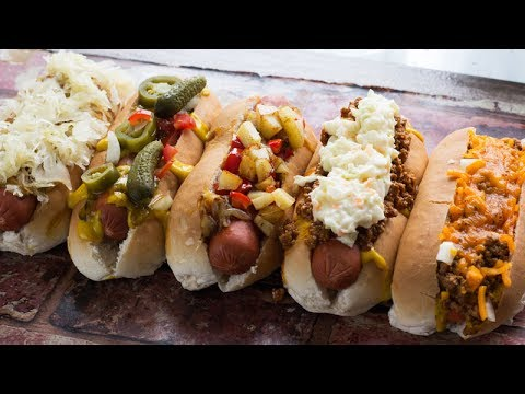 5 Hot Dog Styles From Around The Country