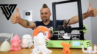 Tevo Tarantula Pro 3D Printer Unboxing, Build, & Review.Best $200 3D Printer 2019