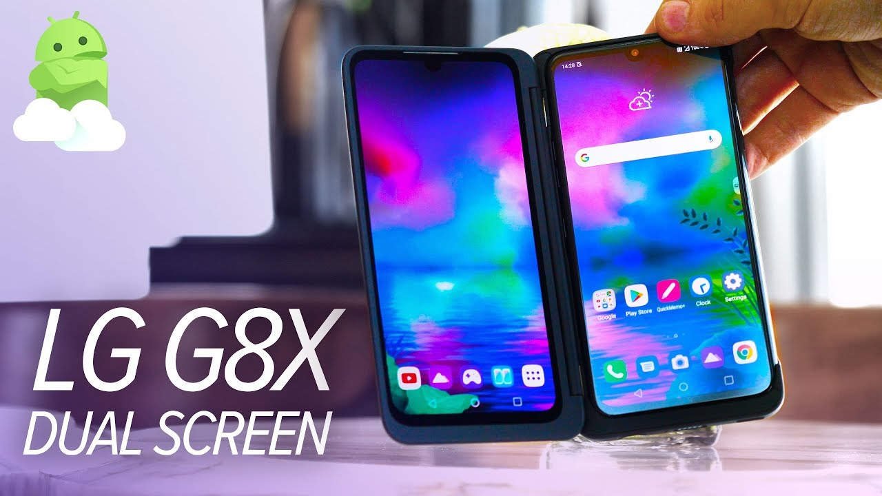 LG G8X Dual Screen: The WEIRDEST Android phone of 2019