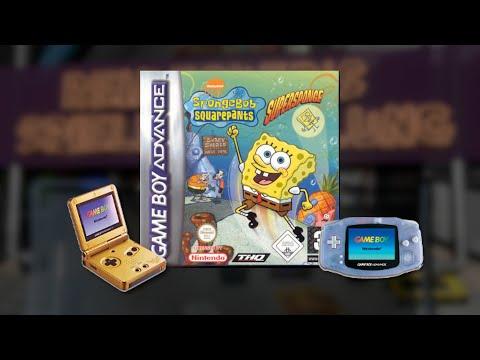 Gameplay : SpongeBob Schwammkop - SuperSponge [Gameboy Advance]