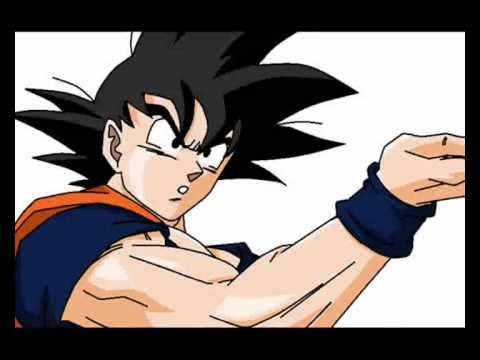 Goku - Speed Painting in MS Paint