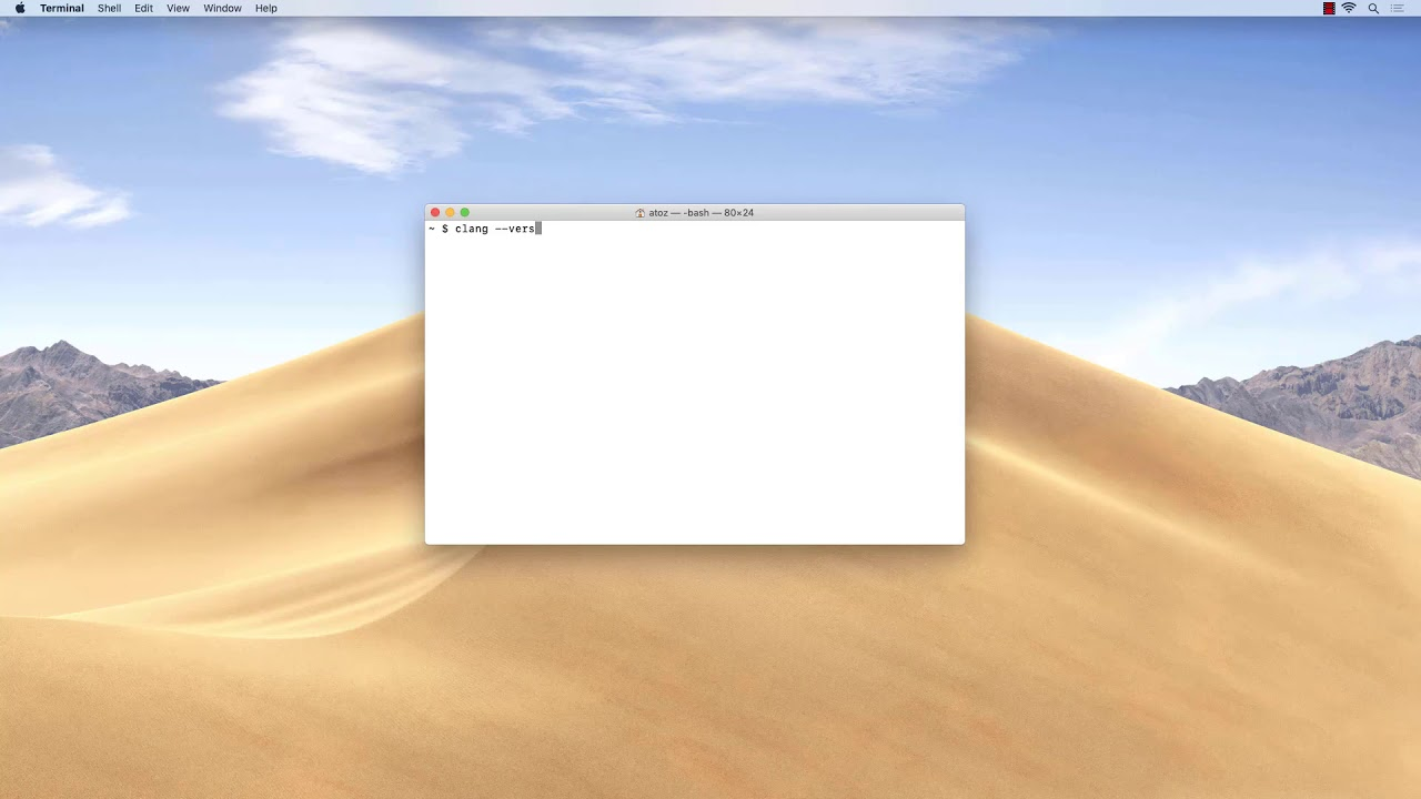 Install the Command Line Tools and Homebrew on macOS Mojave